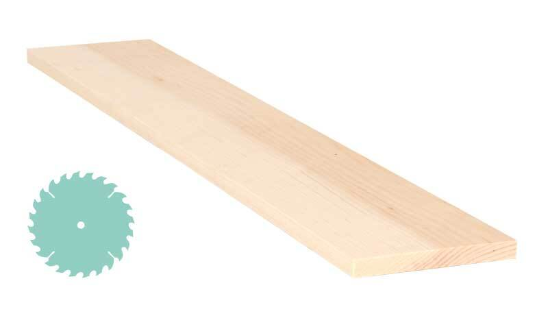 Zirbenholz-Zuschnitt - 1 x 10 cm