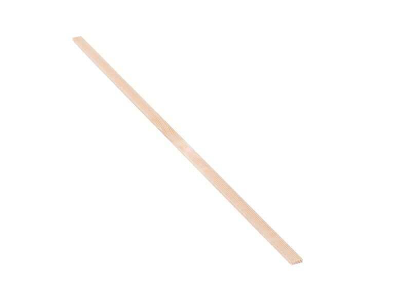 Holzleiste Kiefer 50 cm, 0,3 x 1 cm
