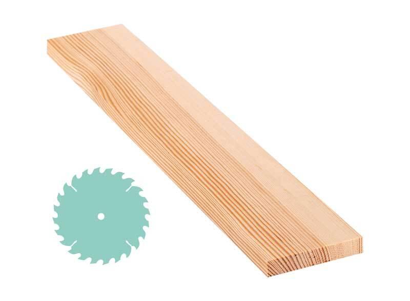 Grenen plank - zaagservice, 1,5 x 8,5 cm