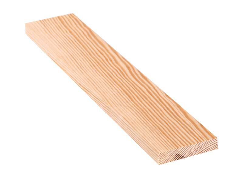 Holzbrett Kiefer - 40 cm, 1,8 x 9 cm