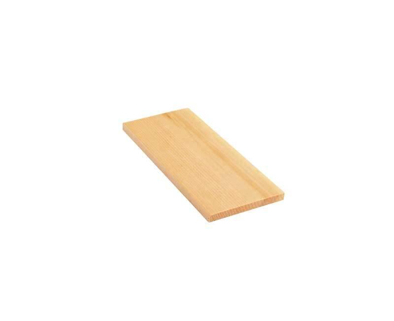 Alpenden plank - 20 cm, 1 x 10 cm