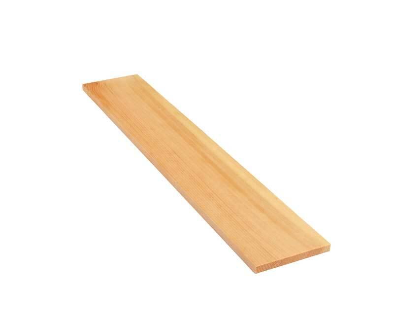 Alpenden plank - 50 cm, 1 x 10 cm