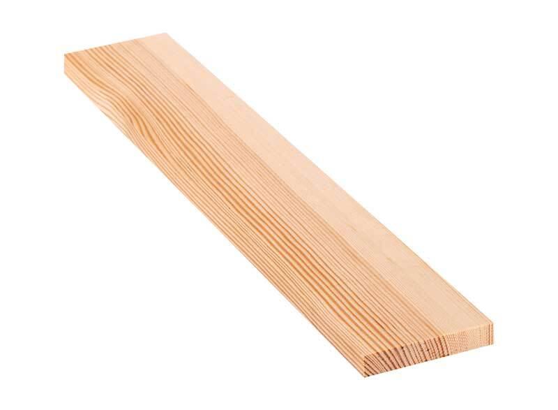 Holzbrett Kiefer - 30 cm, 1,5 x 8,5 cm