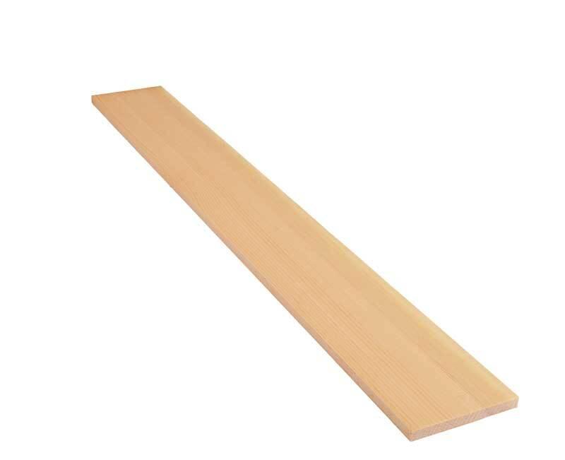 Alpenden plank - 75 cm, 1 x 10 cm