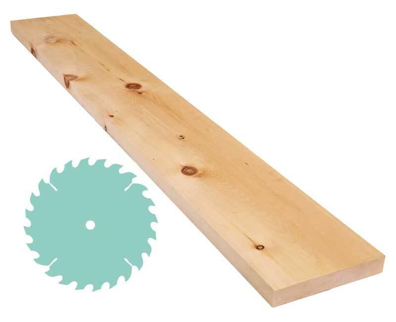 Pin cembro - Découpe sur mesure, 2,4 x 15 cm