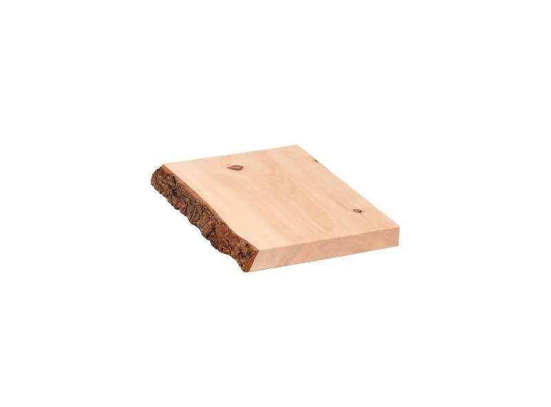 Planche en pin cembro - 25 cm, 2,4x20-25cm, écorce