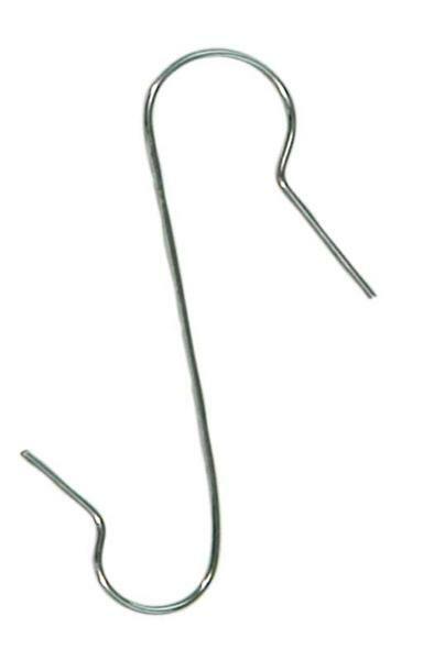 Crochets de suspensions zingués, 50 pces