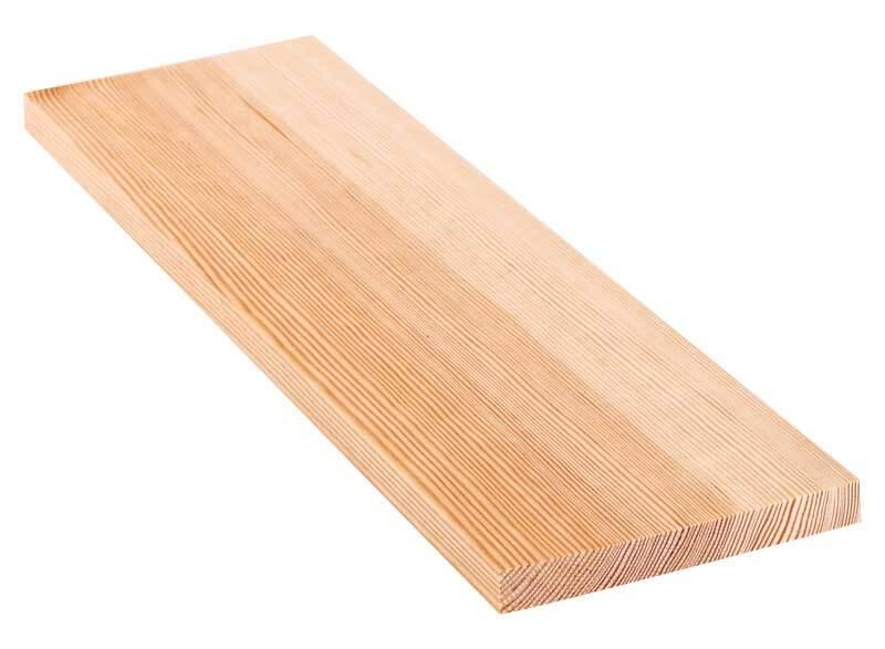 Grenen plank - 40 cm, 1,8 x 15 cm