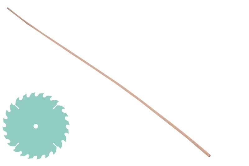 Rundstab Ø 4 mm, Zuschnitt