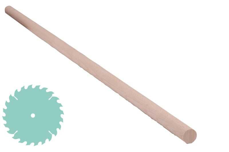 Rundstab Ø 25 mm, Zuschnitt