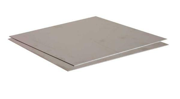 Aluminiumplaat - 0,6 mm, 20 x 20 cm
