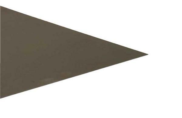 Zwart blik - 0,6 mm, 20 x 40 cm