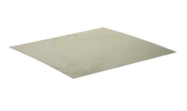 Weißblech verzinkt - 0,55 mm, 20 x 40 cm