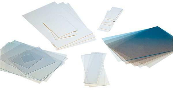 Polystyreen (polystyrol) transp.- 2mm, 24,5x14,5cm
