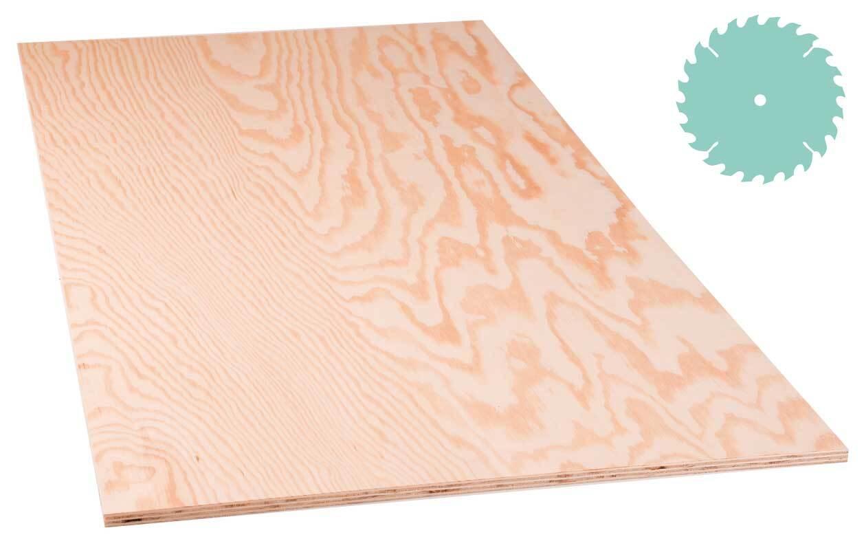 Sperrholz Kiefer - 10 mm (Zuschnitt)