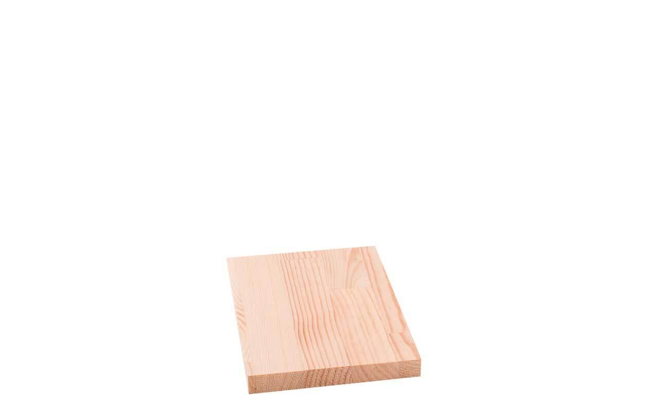 Grenenhout verlijmd - 18 mm, 20 x 25 cm
