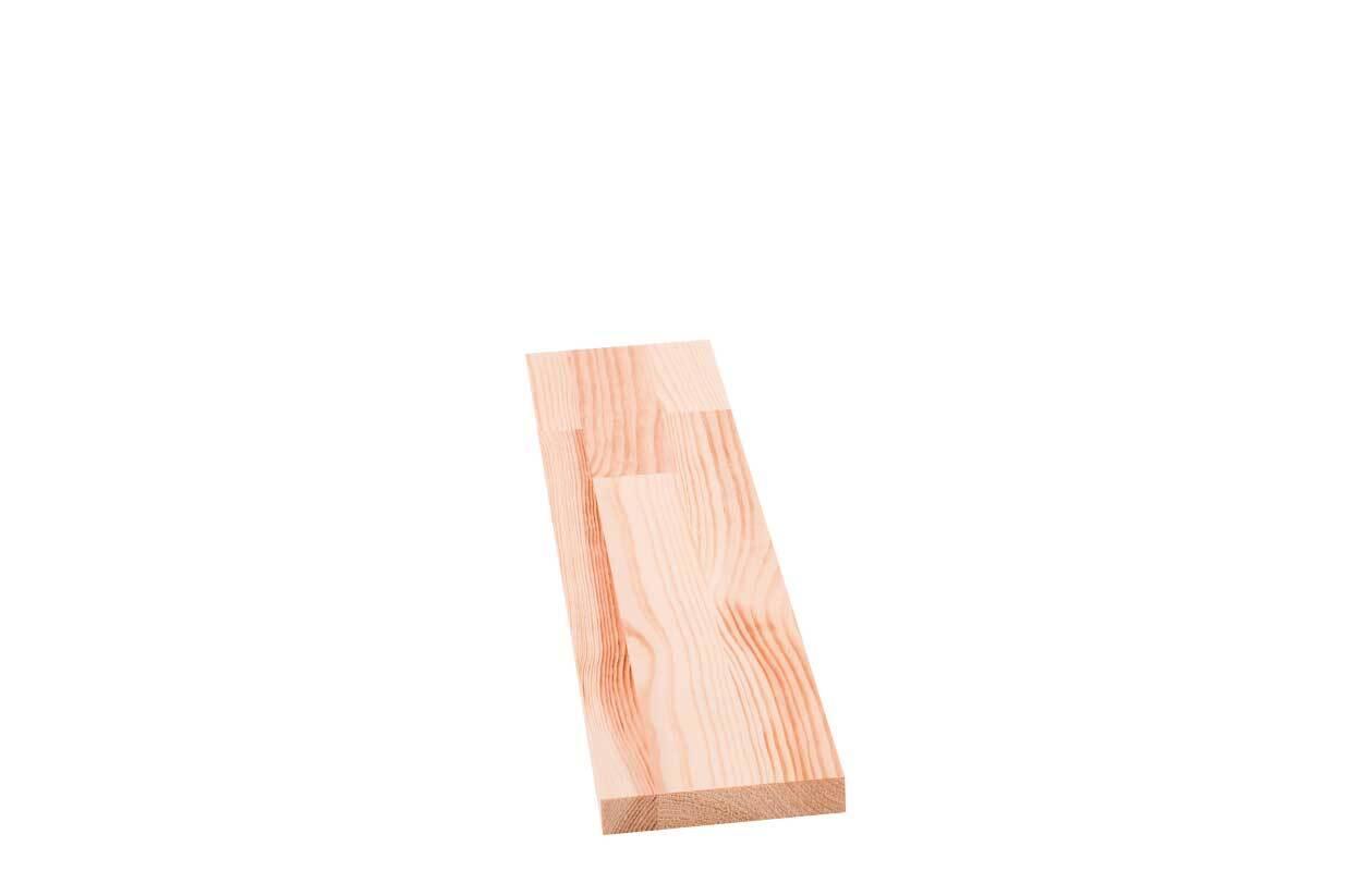 Grenenhout verlijmd - 18 mm, 50 x 10 cm