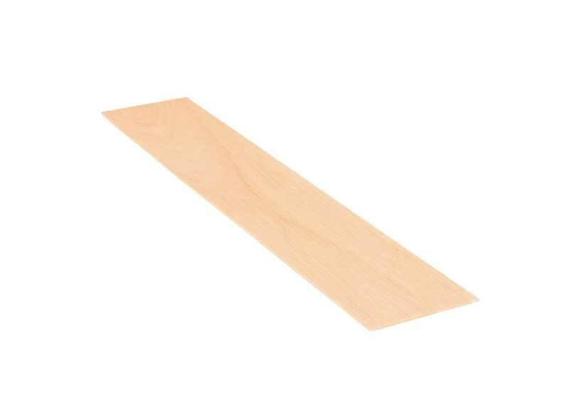 Balsa hout - 10 x 50 cm, 2 mm