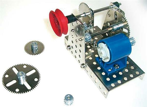 Metallbaukasten - Getriebe