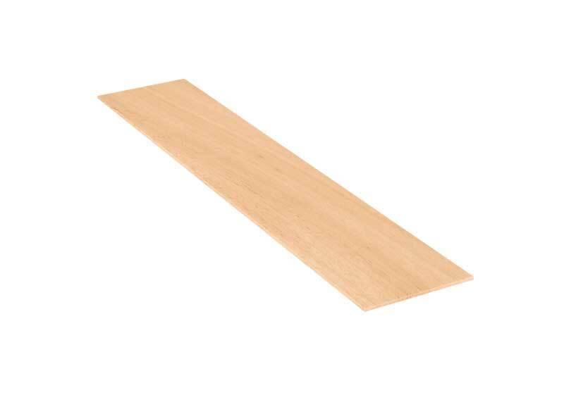 Balsa hout - 10 x 50 cm, 3 mm