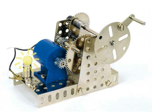 Metallbaukasten - Generator