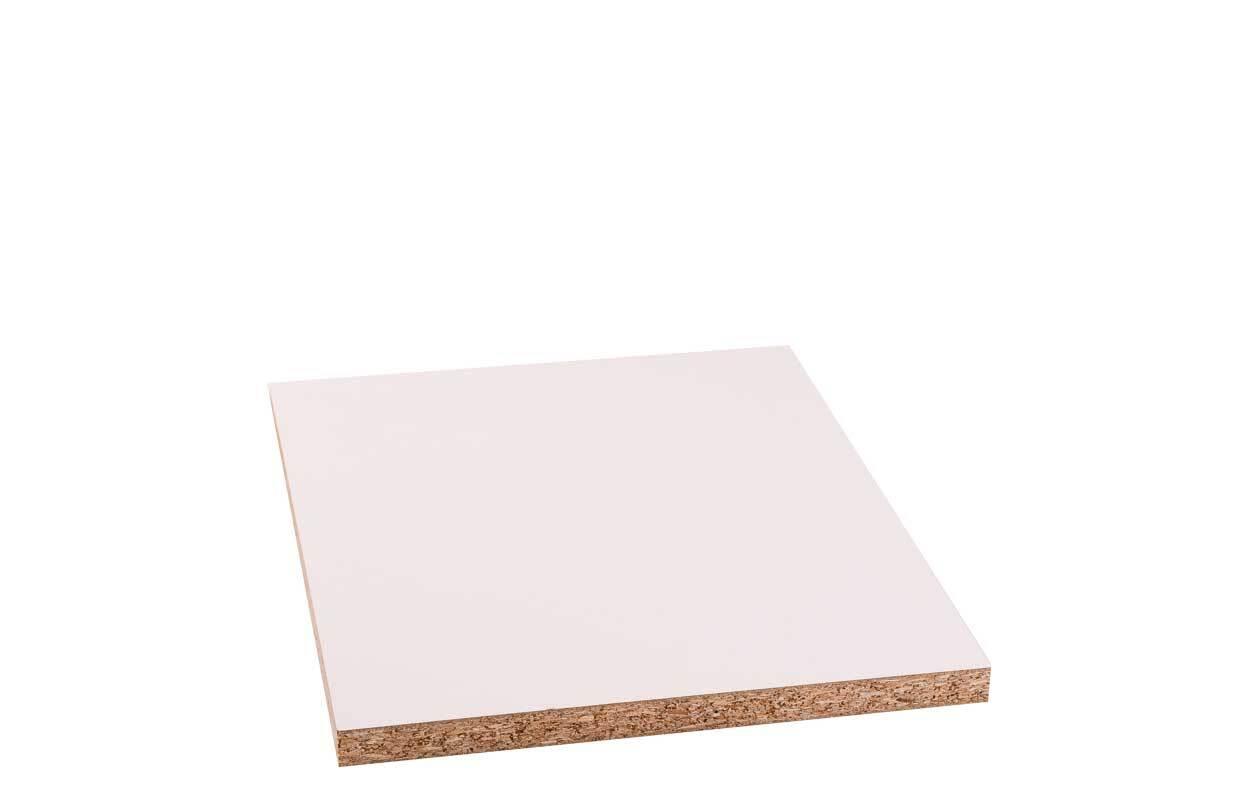 Spaanplaat wit gecoat - 19 mm, 30 x 40 cm