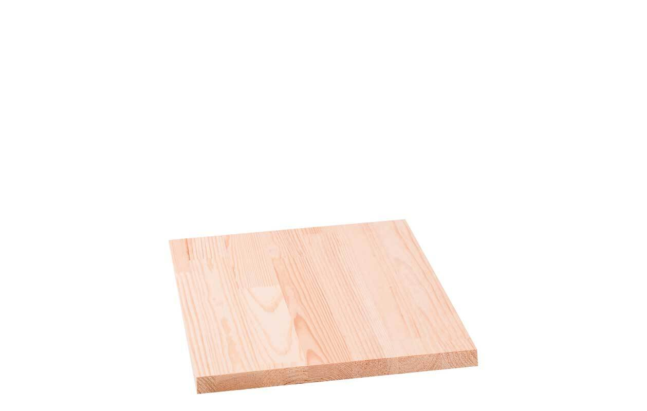 Grenenhout verlijmd - 18 mm, 30 x 25 cm