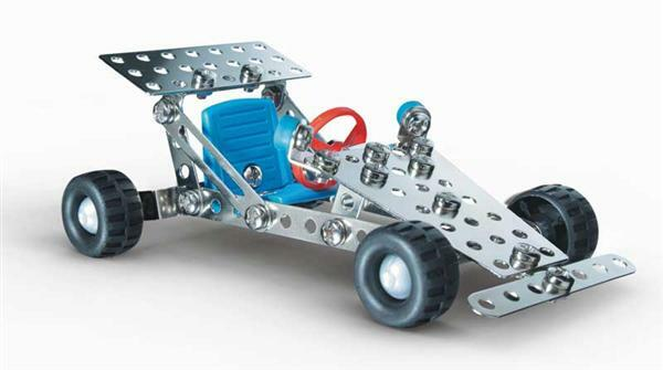 Metaalbouwdoos - racewagen