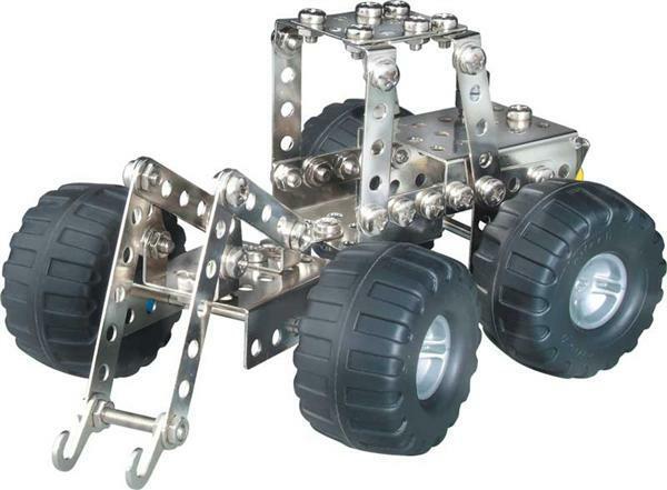 Metallbaukasten - Forstfahrzeuge