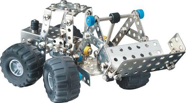 Metaalbouwdoos - bosbouw voertuigen