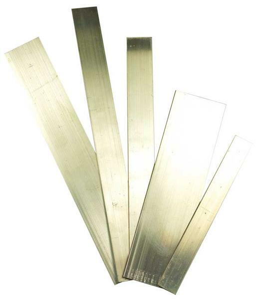 Aluminium vlakke plaat - 500 mm, 15 x 2 mm