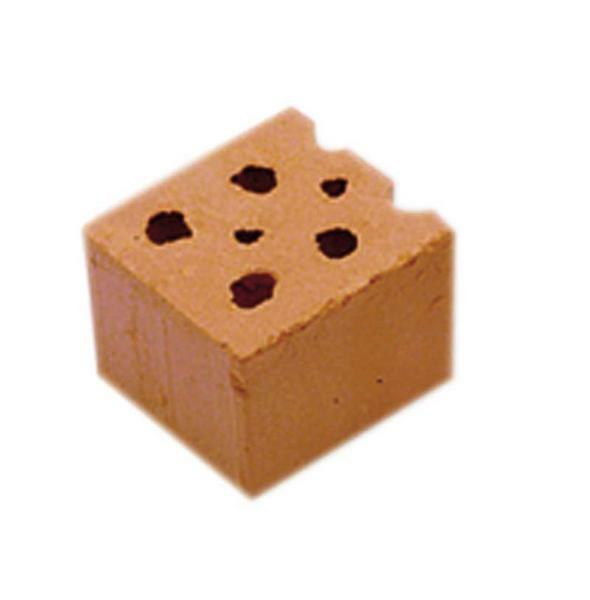 Demi-briques rouge, 30 pces