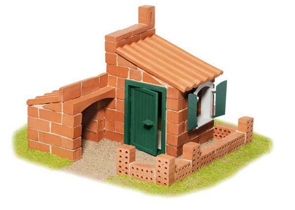 Steinbaukasten 2 Häuser