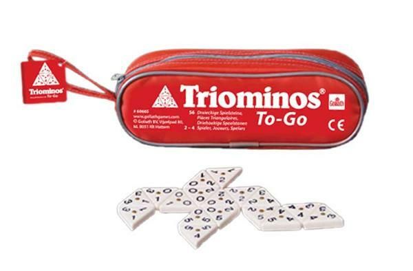 Legespiel Triominos to-go