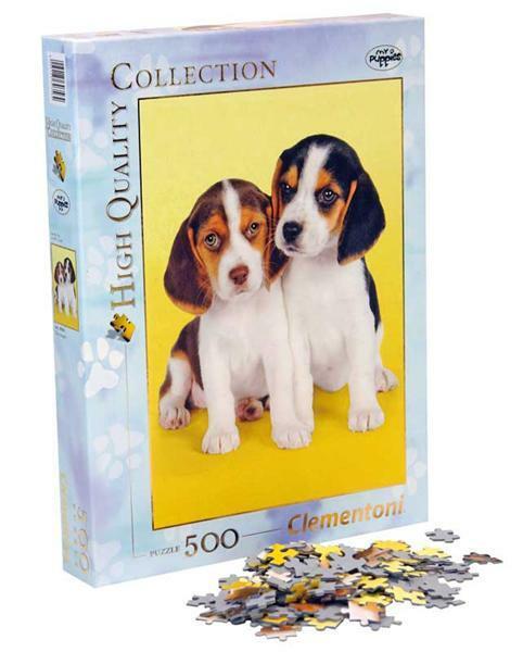 Puzzle 500 pièces, Beagles