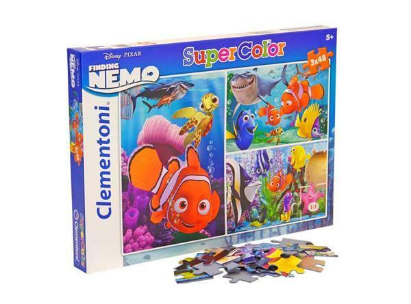 Puzzel 3 x 48 stuks, Nemo