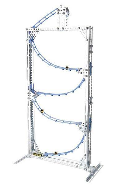 Metallbaukasten - Kugelbahn FUN´N´ROLL