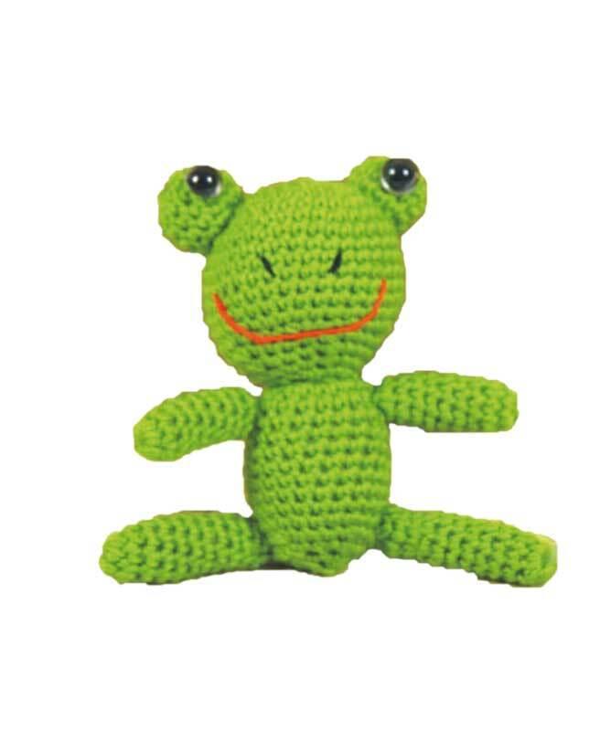 Häkelset Frosch