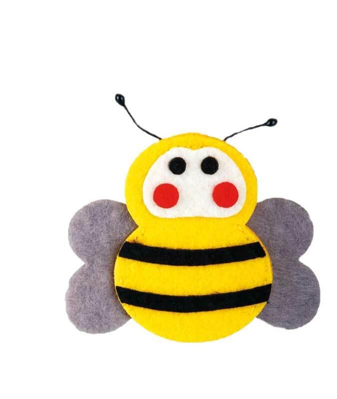 Set de création en feutrine, abeille