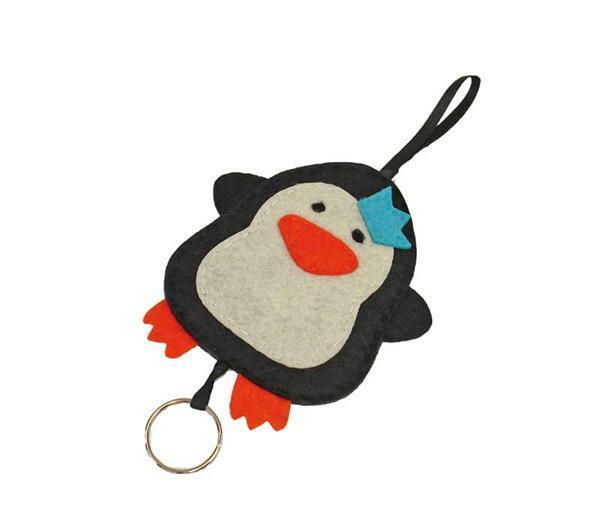 Bastelset Filz, Pinguin