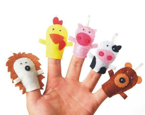 Bastelset Filz, Fingerpuppen