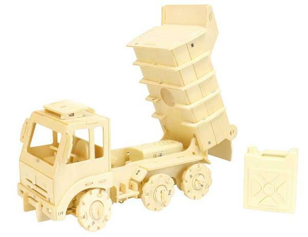Holzbausatz LKW ferngesteuert, 25 x 13 x 15 cm