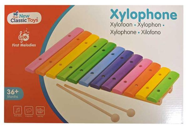 Xylophone multicolore, 12 tons