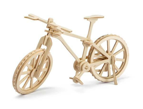 Kit en bois - Bicyclette, 19,5 x 8 x 12 cm