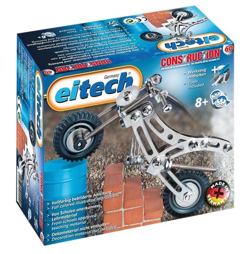 Metallbaukasten - Trial Bike