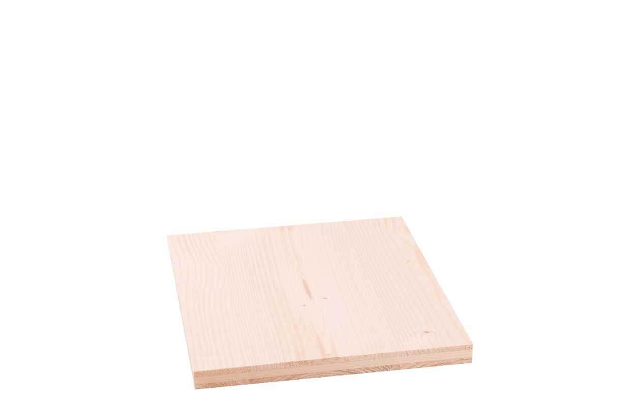 3-Schicht-Platte Fichte - 19 mm, 30 x 25 cm