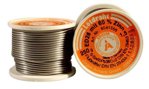 Lötdraht - 250 g, Ø 1,5 mm