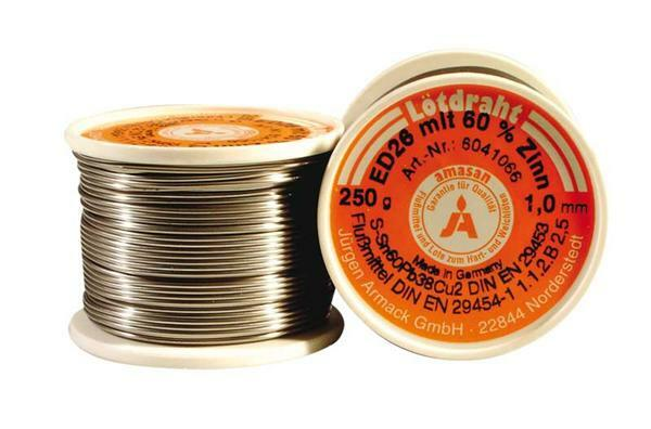 Soldeerdraad - 250 g. Ø 1 mm