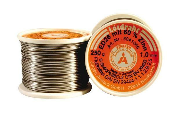 Lötdraht - 250 g, Ø 1 mm