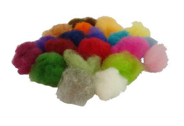 Märchenwolle - 500 g, Mischpackung